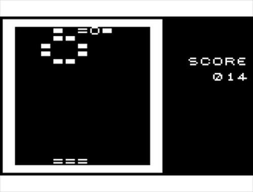 ピンボール風スカッシュ Game Screen Shots