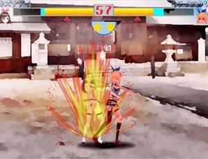 モデルDEファイト Game Screen Shot