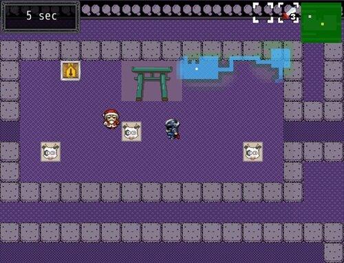 タイムアタッカーヤマト Game Screen Shot1