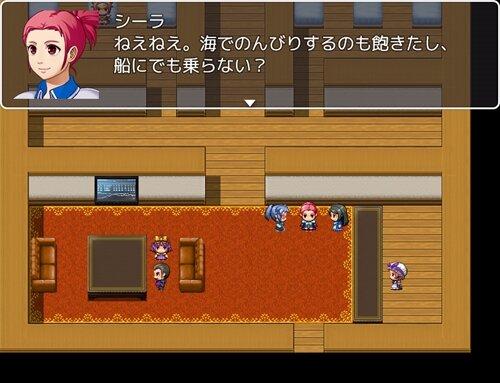 バースト&スパーク Game Screen Shot1