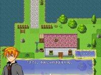 ミコノス村復興物語のゲーム画面