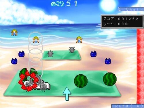 スピアボールのスイカ割り Game Screen Shot1
