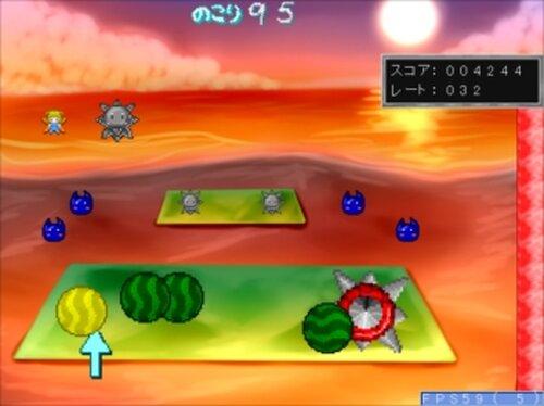 スピアボールのスイカ割り Game Screen Shot4