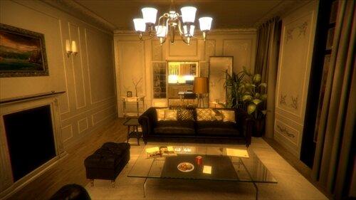 薄暗い部屋 -Gloomy Room-(体験版) Game Screen Shot1