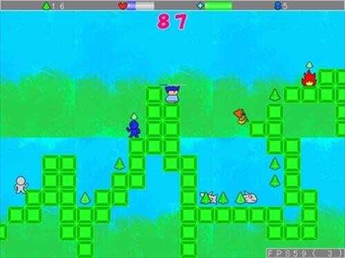 ヤシーユワールド Game Screen Shots