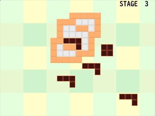 チョコパズル Game Screen Shot1