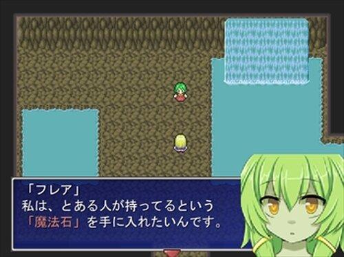 怪盗ユリリン 魔法石と魔女見習い Game Screen Shot2