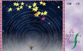 Night Sky Flowers Game Screen Shot5