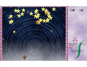 Night Sky Flowers Game Screen Shot