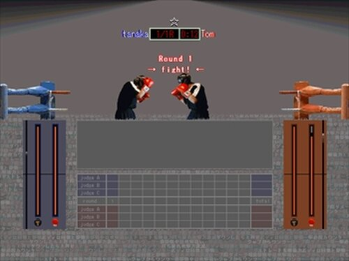 SAMURAI BOXING Game Screen Shot5