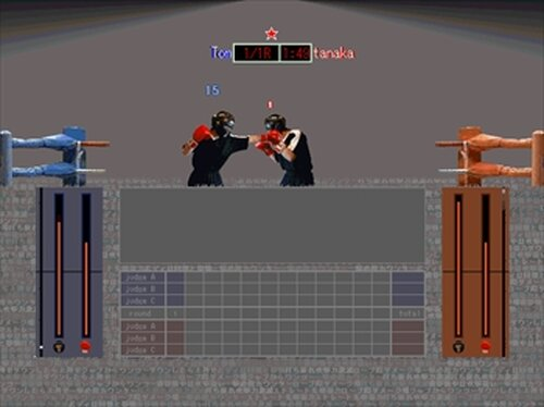 SAMURAI BOXING Game Screen Shots