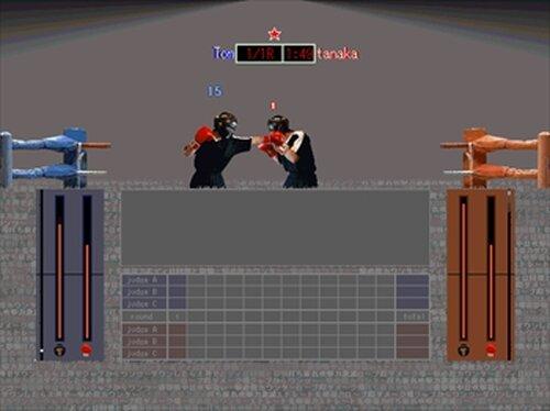 SAMURAI BOXING Game Screen Shots