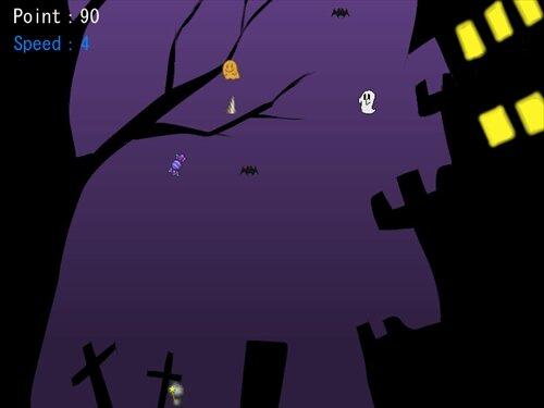 ロボネコのハロウィン Game Screen Shot