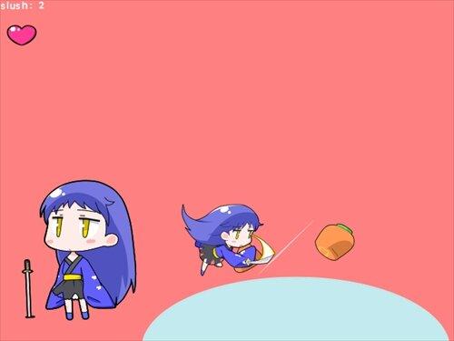 ユズハチャンスラッシュ Game Screen Shot