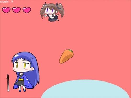 ユズハチャンスラッシュ Game Screen Shot3