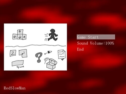 Red Slow Man Game Screen Shot2