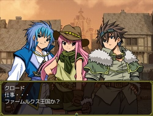 釣り師クロードの冒険 Game Screen Shot3