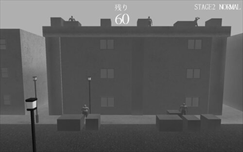 ZOMBIE TOWN Game Screen Shot3