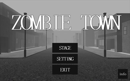 ZOMBIE TOWN Game Screen Shots
