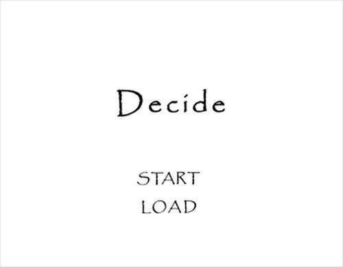 Decide Game Screen Shots