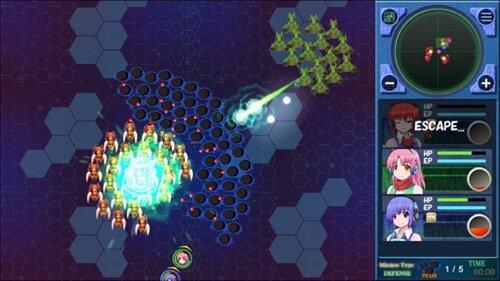 Transer & Buster 体験版 Game Screen Shot1