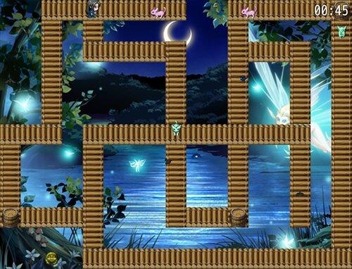 黒き孤狼~アッシュの魔物討伐記~ Game Screen Shot1