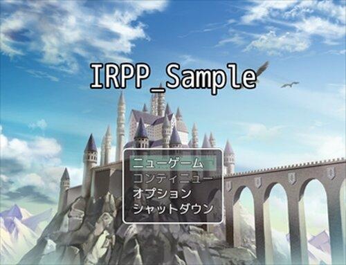 IRPP_Sample Game Screen Shots