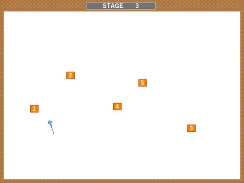 LINE GAME Game Screen Shot1