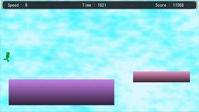 GreenRunningMan Game Screen Shot2