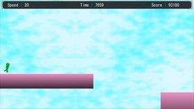 GreenRunningMan Game Screen Shot3