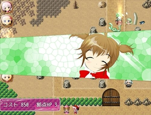 魔法少女辞めてもいいですか? Game Screen Shot3