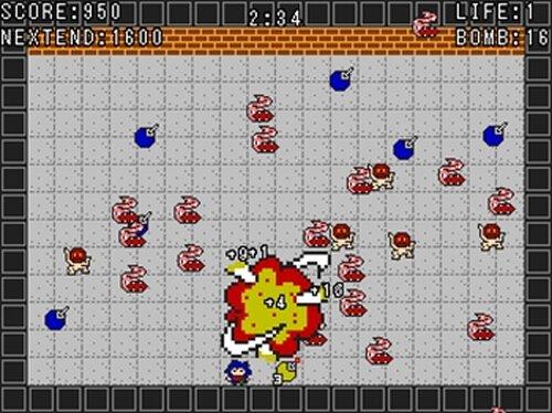 ボンバウンドF Game Screen Shots