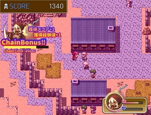 爆弾娘リゼッタの野望 Game Screen Shot