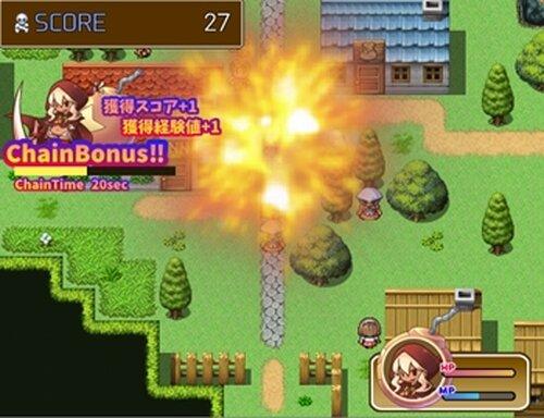爆弾娘リゼッタの野望 Game Screen Shot4