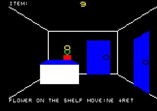キャラグラハウス Game Screen Shot1