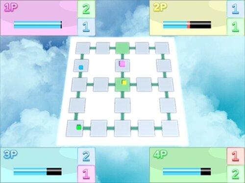すごろくばとる! Game Screen Shot3