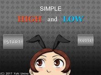 SIMPLE HIGH and LOW