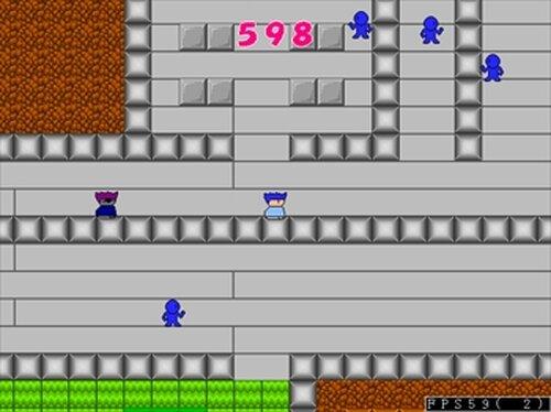 学校で逃走中! Game Screen Shots