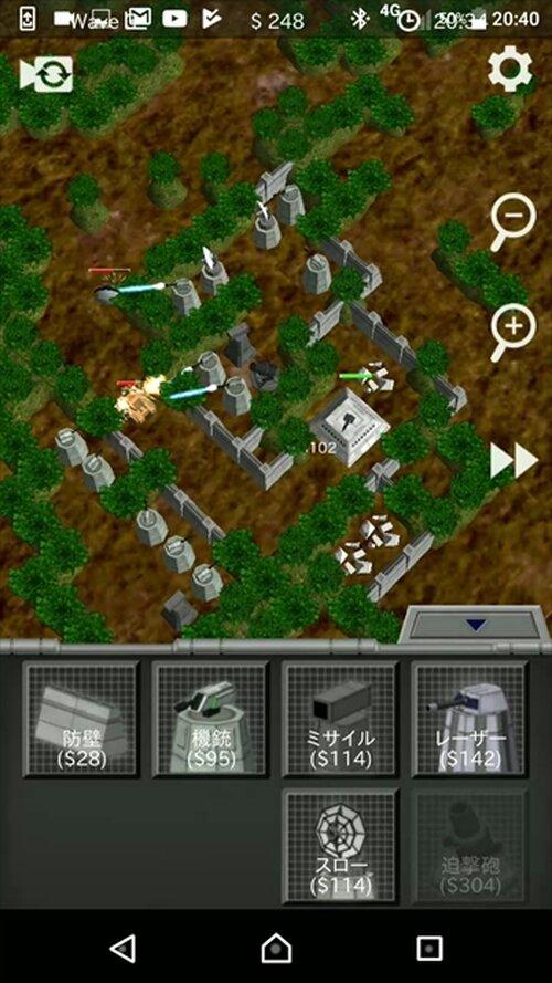 スペースフォートレス Game Screen Shot3