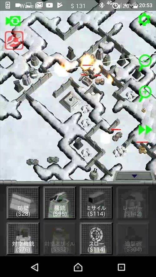 スペースフォートレス Game Screen Shot4