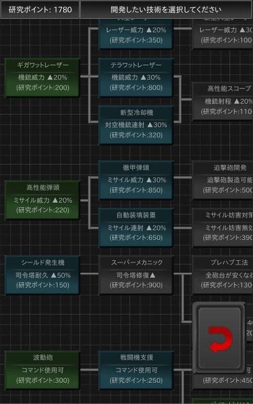 スペースフォートレス Game Screen Shot5