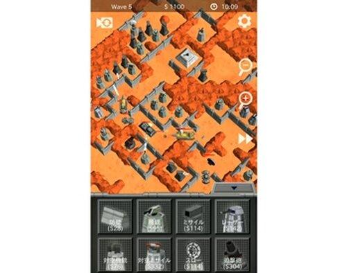 スペースフォートレス Game Screen Shots