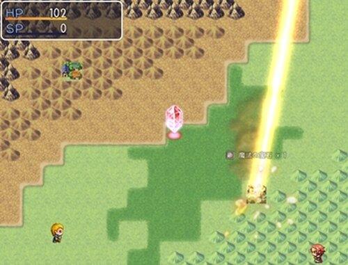 世界の終わりに花束を Game Screen Shots