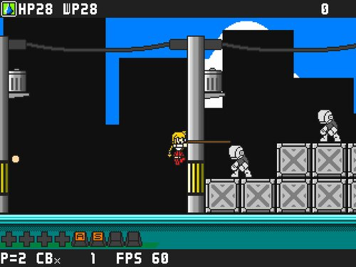疾風戦記フォースギア外伝失われたカレーPlus Game Screen Shot2