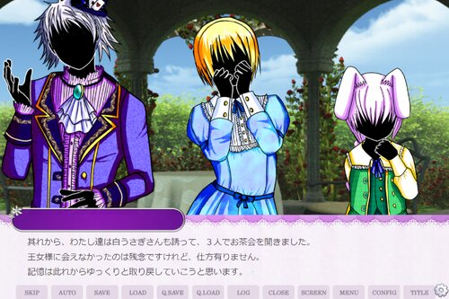 メモリーロスト・ネバーランド Game Screen Shot1