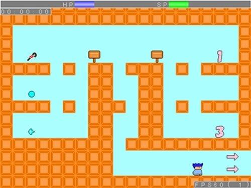 ヤシーユが格闘王への道に挑戦するようです Game Screen Shot3