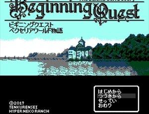 ビギニングクエスト ~ベクセリアワールド物語~ Game Screen Shot