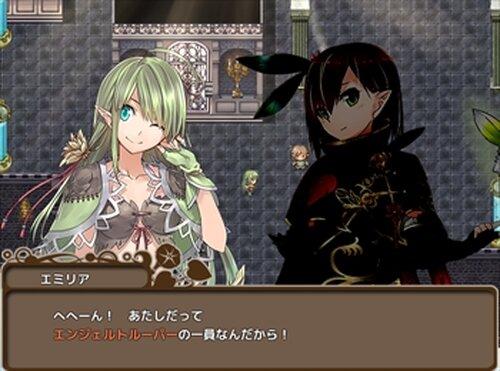 エンジェルトルーパー Game Screen Shot2