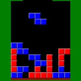 赤と青のブロックを消すゲーム Game Screen Shot2