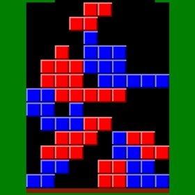 赤と青のブロックを消すゲーム Game Screen Shot3